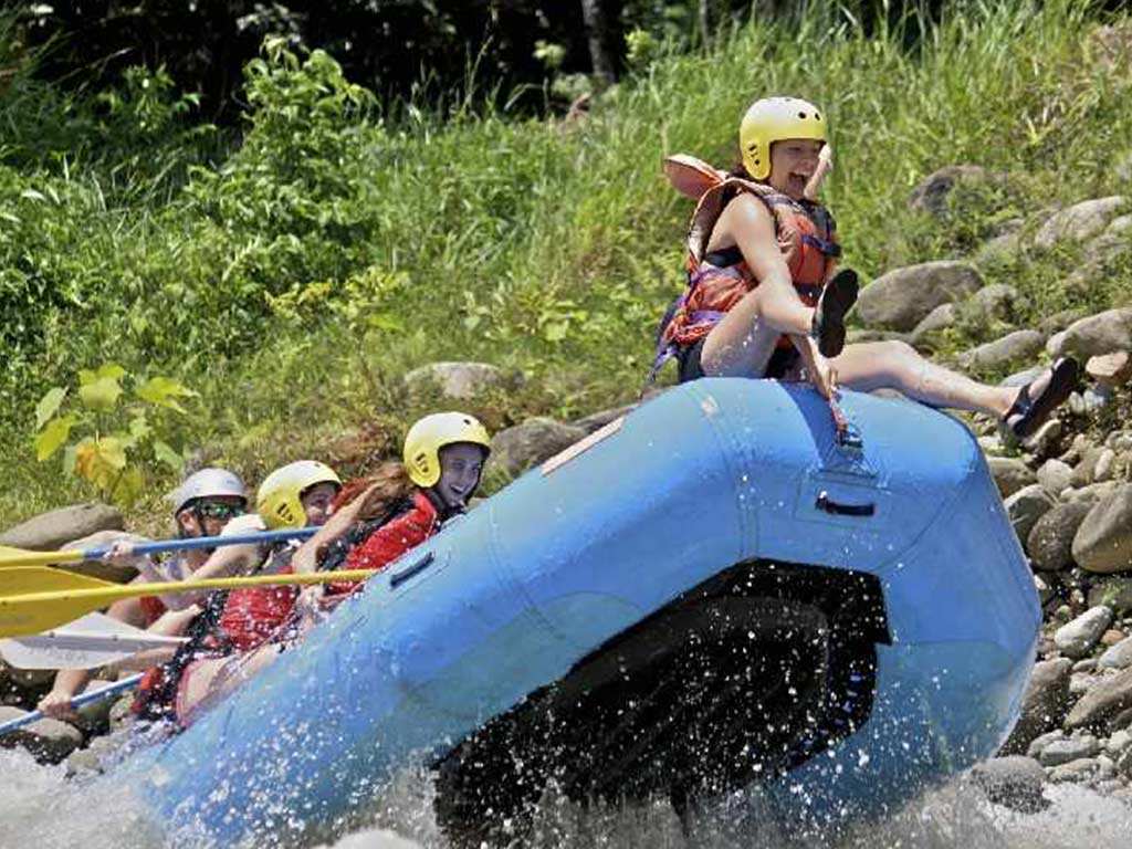 White Water Rafting Manuel Antonio
