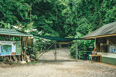 Manuel Antonio National Park early morming