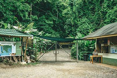 Manuel Antonio National Park early morming